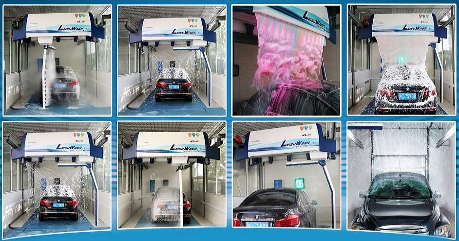 Best Touchless car wash machine in USA